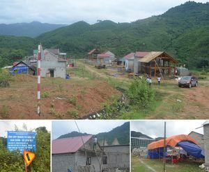 Nghệ An: Nhiều dự án di dời dân cấp bách nhưng tiến độ ì ạch