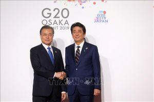 Hội nghị Cấp cao ASEAN 35: Lãnh đạo Nhật Bản, Hàn Quốc đối thoại