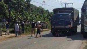 Va chạm với xe tải, một người đàn ông tử vong tại chỗ