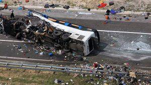 Tai nạn xe buýt tại Myanmar khiến 13 người chết, 25 người bị thương