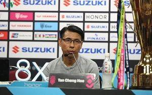 HLV Tan Cheng Hoe quyết tâm giúp Malaysia đánh bại Thái Lan
