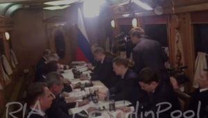 Thủ tướng Nga tổ chức một cuộc họp trên tàu Novosibirsk-Barnaul