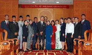 Lãnh đạo TP Hồ Chí Minh tiếp đại biểu Chương trình Tàu Thanh niên Đông Nam Á và Nhật Bản
