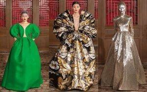 Sàn diễn thời trang kết hợp văn hóa Đông - Tây của Valentino tạo nên cú nổ lớn ở Bắc Kinh