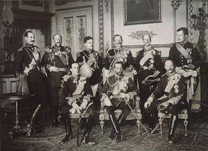 Bức ảnh đặc biệt chụp 9 vị vua nổi tiếng thế giới