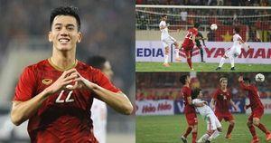 Toàn cảnh Việt Nam 1-0 UAE: Thẻ đỏ, siêu phẩm và ngày của Tiến Linh