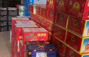 Lực lượng QLTT thu giữ hơn 2 tấn hoa quả nhập lậu tại Bình Phước