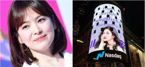 Vì sao hình ảnh Song Hye Kyo bất ngờ xuất hiện nổi bật giữa quảng trường Thời Đại?