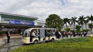 Đại biểu VLF khảo sát thực địa tại Chu Lai
