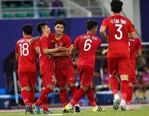 Bóng đá nam SEA Games 30: U22 Việt Nam thắng đậm U22 Brunei
