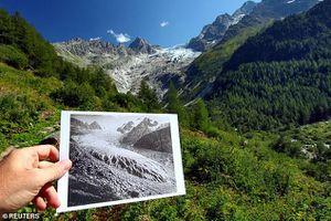 Sông băng ở Thụy Sĩ qua những bức ảnh sau khoảng 200 năm