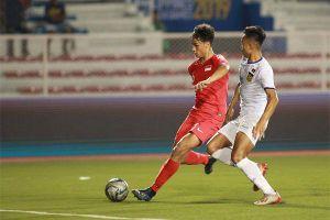15 giờ hôm nay 28-11, đội tuyển U.22+2 Việt Nam - Lào: Thêm 3 điểm
