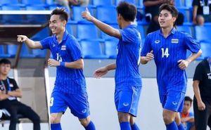 Thắng 3-0, U22 Thái Lan vươn lên đứng nhì bảng sau Việt Nam