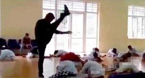 Xử phạt thầy dạy võ có màn khởi động phản cảm