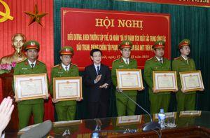 Nam Định: Liên tiếp phá án, PC 04 được Chủ tịch UBND tỉnh gửi Thư khen