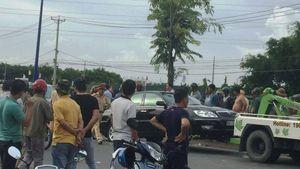 Vụ giang hồ vây xe chở công an: Điều chuyển công tác 3 sĩ quan