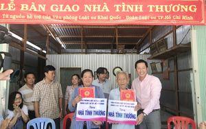 Luật sư TPHCM tặng nhà tình thương tới hộ nghèo Đồng Tháp