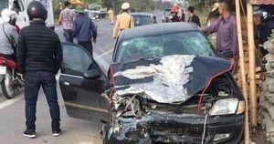 Thái Bình: Hai xe ô tô đâm nhau, một người tử vong