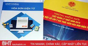180 doanh nghiệp Hà Tĩnh học cách sử dụng hóa đơn điện tử