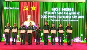Tổng kết công tác quân sự, quốc phòng địa phương năm 2019