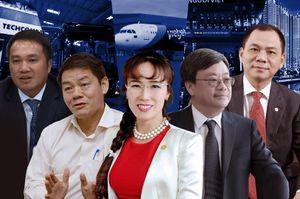 Năm 2019 nhiều biến động của 5 tỷ phú USD Việt Nam