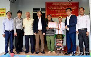 Gần 1,9 tỷ đồng hỗ trợ gia đình thân nhân liệt sỹ ở Nghệ An trong năm 2019