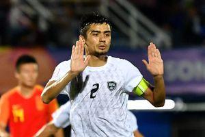 Thua Uzbekistan 0-2, U23 Trung Quốc bị loại khỏi giải châu Á