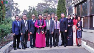 Phó Chủ tịch Quốc hội thăm chúc Tết cộng đồng người Việt tại Australia