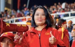 Nữ CĐV hô 'bay lên trời là em bay ra ngoài' bị tấn công Facebook