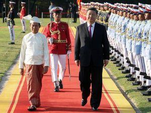 Thăm Myanmar 2 ngày, ông Tập không ký được dự án lớn nào