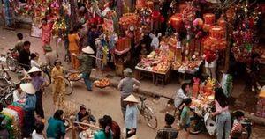 Chợ Tết truyền thống trong dòng chảy hiện đại