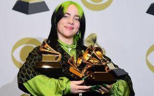 Billie Eilish đại thắng tại Grammy 2020