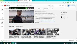Kênh Youtube NNT Vlogs: Chia sẻ nhiều video không đội mũ bảo hiểm, hướng dẫn bốc đầu vi phạm pháp luật