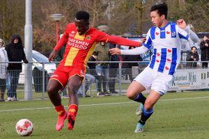 Văn Hậu lại đá trọn 90 phút cho Jong Heerenveen