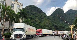 Hơn 500 container nông sản đang 'tắc' ở cửa khẩu, chờ xuất sang Trung Quốc