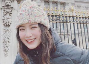 Goo Hye Sun rạng ngời khi du học ở Anh