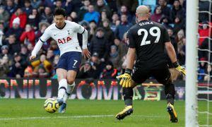 Son Heung Min tỏa sáng, Tottenham thắng nghẹt thở trước Aston Villa