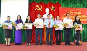 Thi đua học tập và làm theo tư tưởng, đạo đức, phong cách Hồ Chí Minh