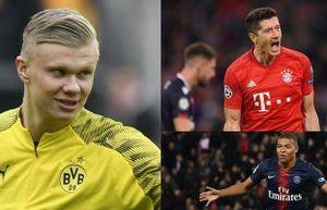 Cuộc đua 'Vua phá lưới' Champions League 2019/2020: Haaland dẫn đầu
