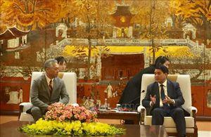 Tạo mọi điều kiện thuận lợi nhất để các Tập đoàn lớn đến đầu tư mở rộng kinh doanh tại Hà Nội