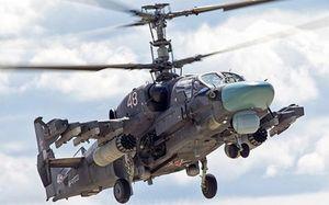 Trực thăng 'sát thủ' K-52M bản nâng cấp của Nga đã có mặt ở chiến trường Syria
