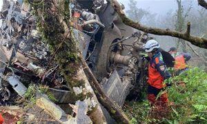'Diều hâu đen' UH-60 chở tư lệnh Đài Loan rơi vì sương mù