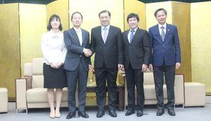 Chủ tịch UBND TP Đà Nẵng Huỳnh Đức Thơ tiếp tân Tổng Lãnh sự Hàn Quốc tại Đà Nẵng