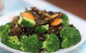 Mộc nhĩ kết hợp với 2 thực phẩm tốt hơn đông trùng hạ thảo