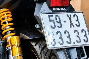 Honda Vario biển số ngũ quý 3 rao bán gần nửa tỷ đồng