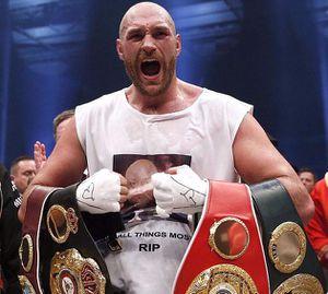 Tyson Fury đối mặt lệnh cấm 8 năm giống Sun Yang
