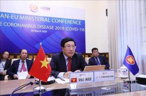 ASEAN - EU tích cực đẩy mạnh hợp tác trong phòng ngừa dịch COVID-19
