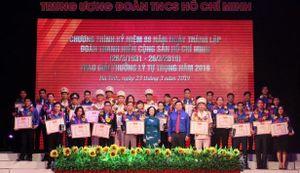 82 cán bộ Đoàn xuất sắc nhận Giải thưởng Lý Tự Trọng năm 2020