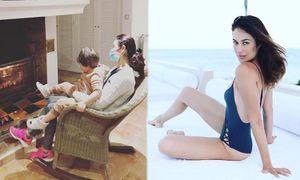 'Bond girl' Olga Kurylenko tuyên bố tự khỏi Covid-19