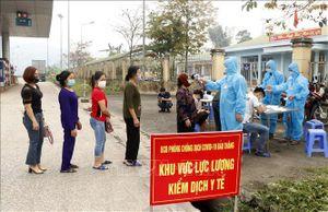 Lào Cai lập thêm 8 chốt kiểm soát dịch COVID-19